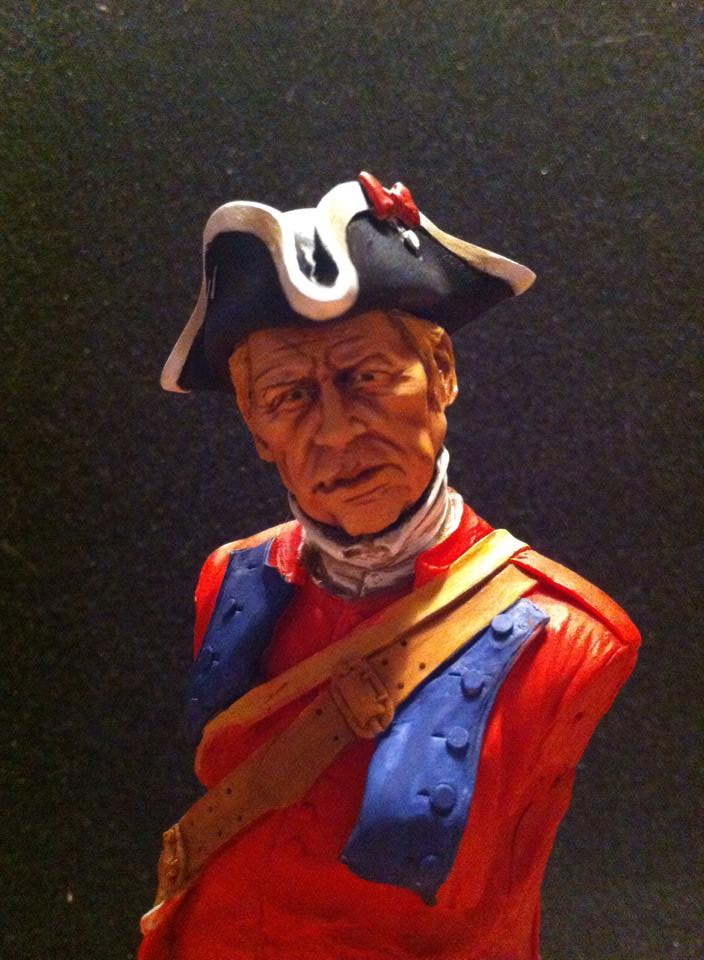 60th Royal American Rifle bust 1/10 par Carl Reid 310