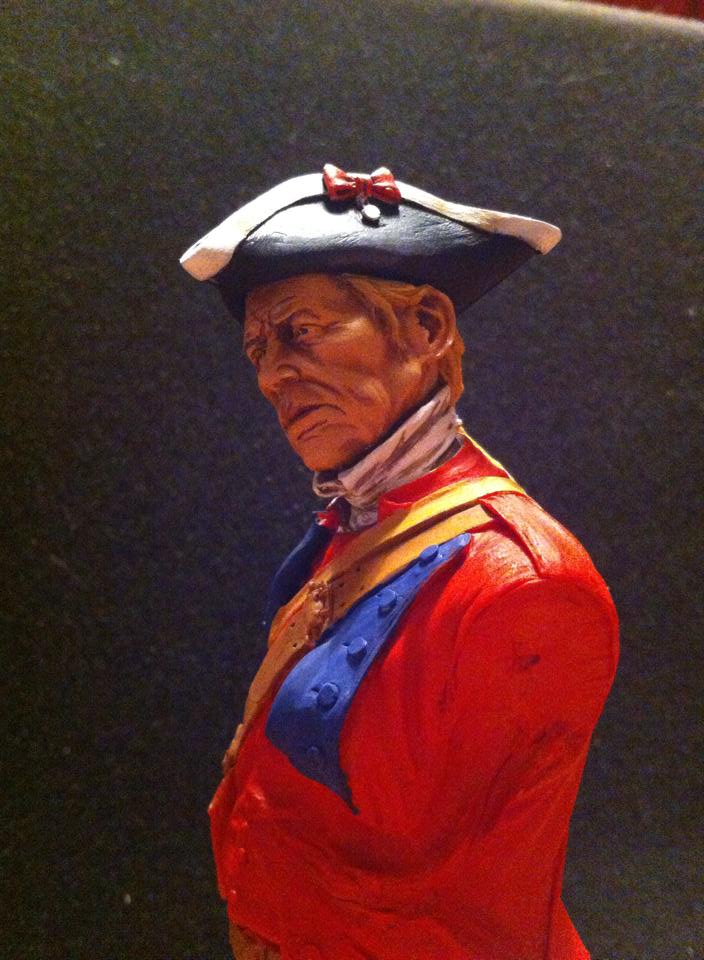60th Royal American Rifle bust 1/10 par Carl Reid 410