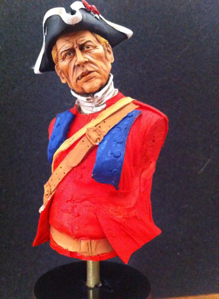 60th Royal American Rifle bust 1/10 par Carl Reid 60310