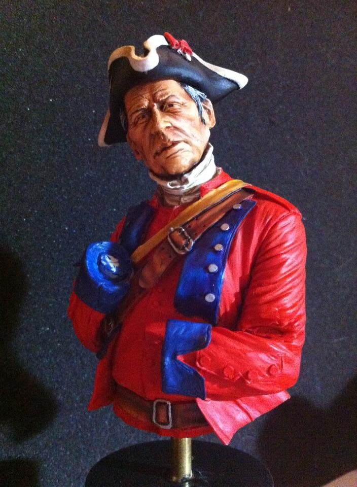 60th Royal American Rifle bust 1/10 par Carl Reid 92305510