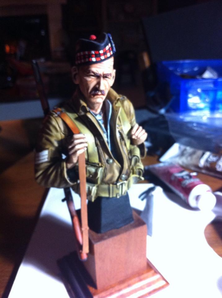 Sergeant at 1st Battalion Gordon Highlanders WW1  Gordon14