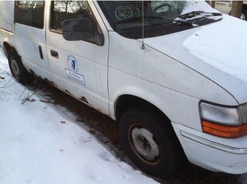 Dodge Extra Cargo Van 410