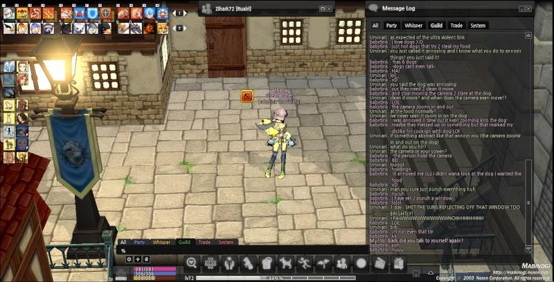 Athena White Noise Thread Mabino11