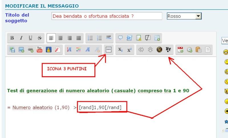 5th >>> istruzioni per l'uso degli editor text  Random10