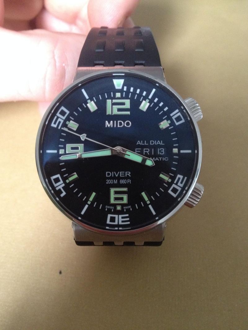 DIVER - MIDO ALL DIAL DIVER Mido211