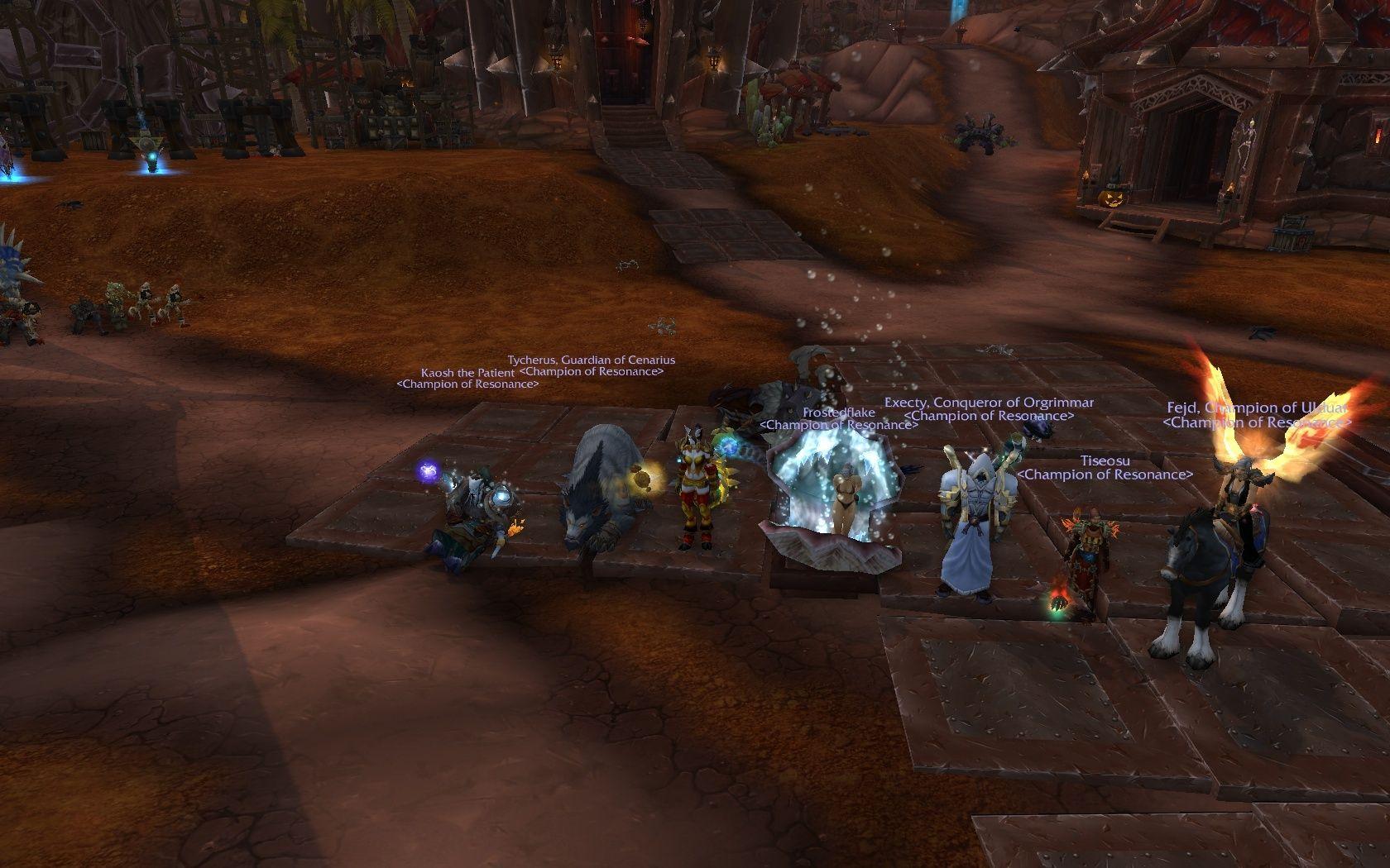 Kor'kron dark Shaman dead (like all other shamans in this raid) - 8/14 HC! Darksh10