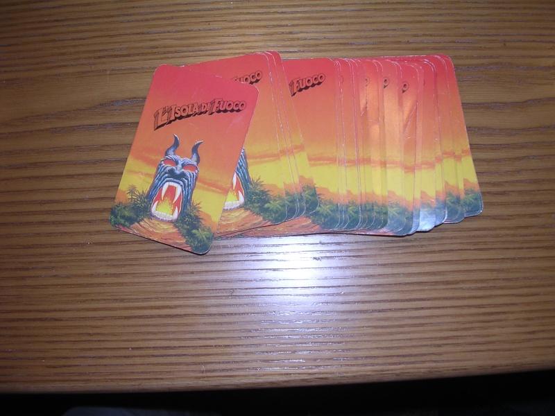 vendo carte del gioco isola di fuoco 00420