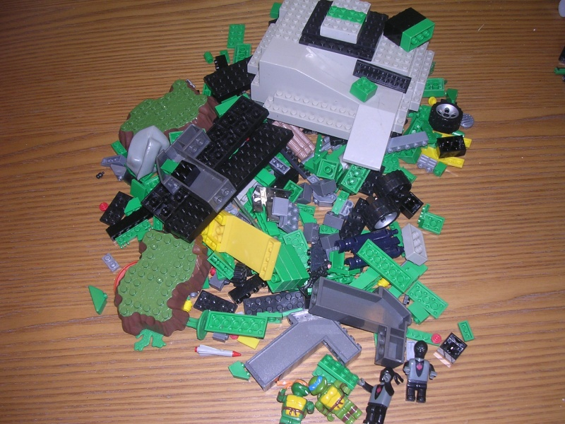 tipo lego tartarughe ninja 00810