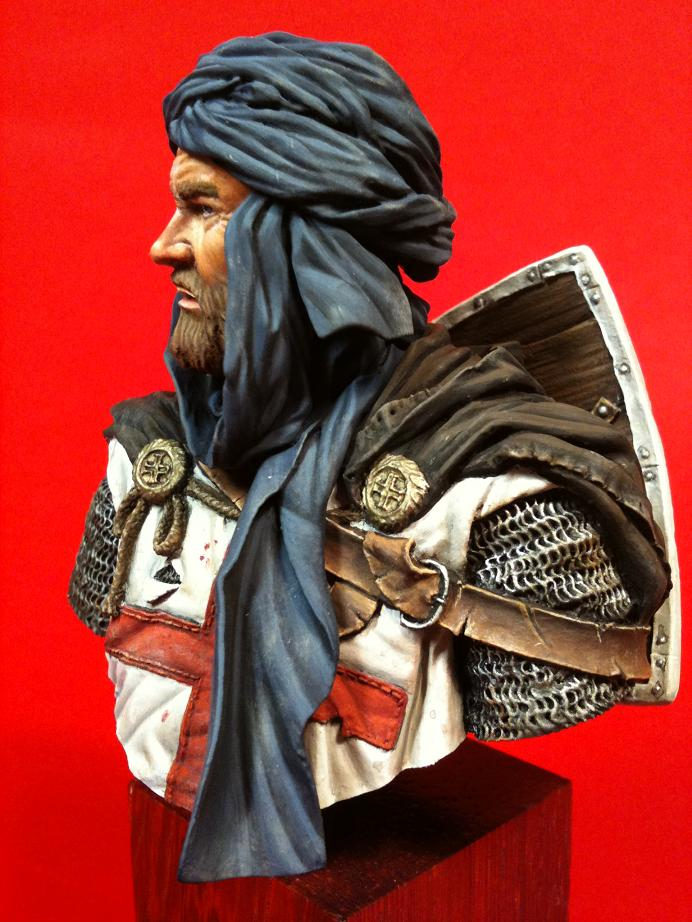 YOUNG MINIATURES -YH 1827- KNIGHT TEMPLAR IN JERUSALEM 01410