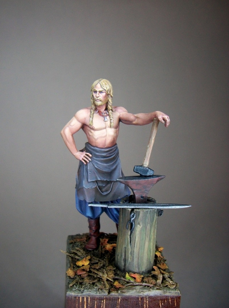 Andrea Miniatures-SV03-Norse Blacksmith 100_5510