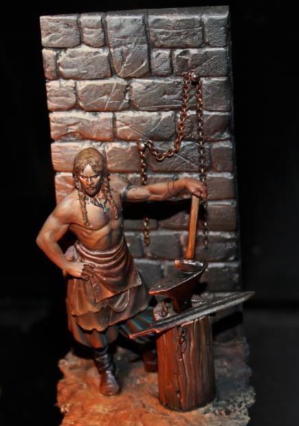 Andrea Miniatures-SV03-Norse Blacksmith 9475_510