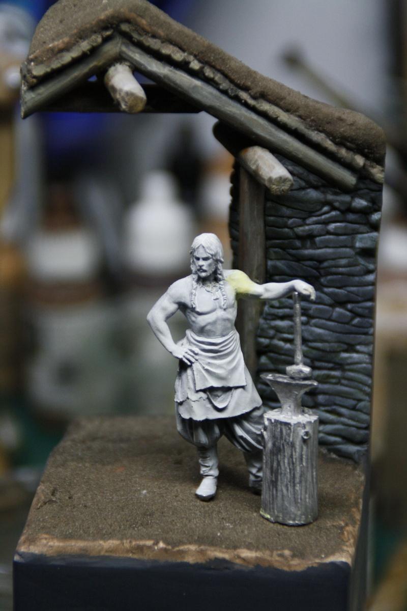 Andrea Miniatures-SV03-Norse Blacksmith par pisco - FIN ... et en  3D !! - Page 2 _mg_0614