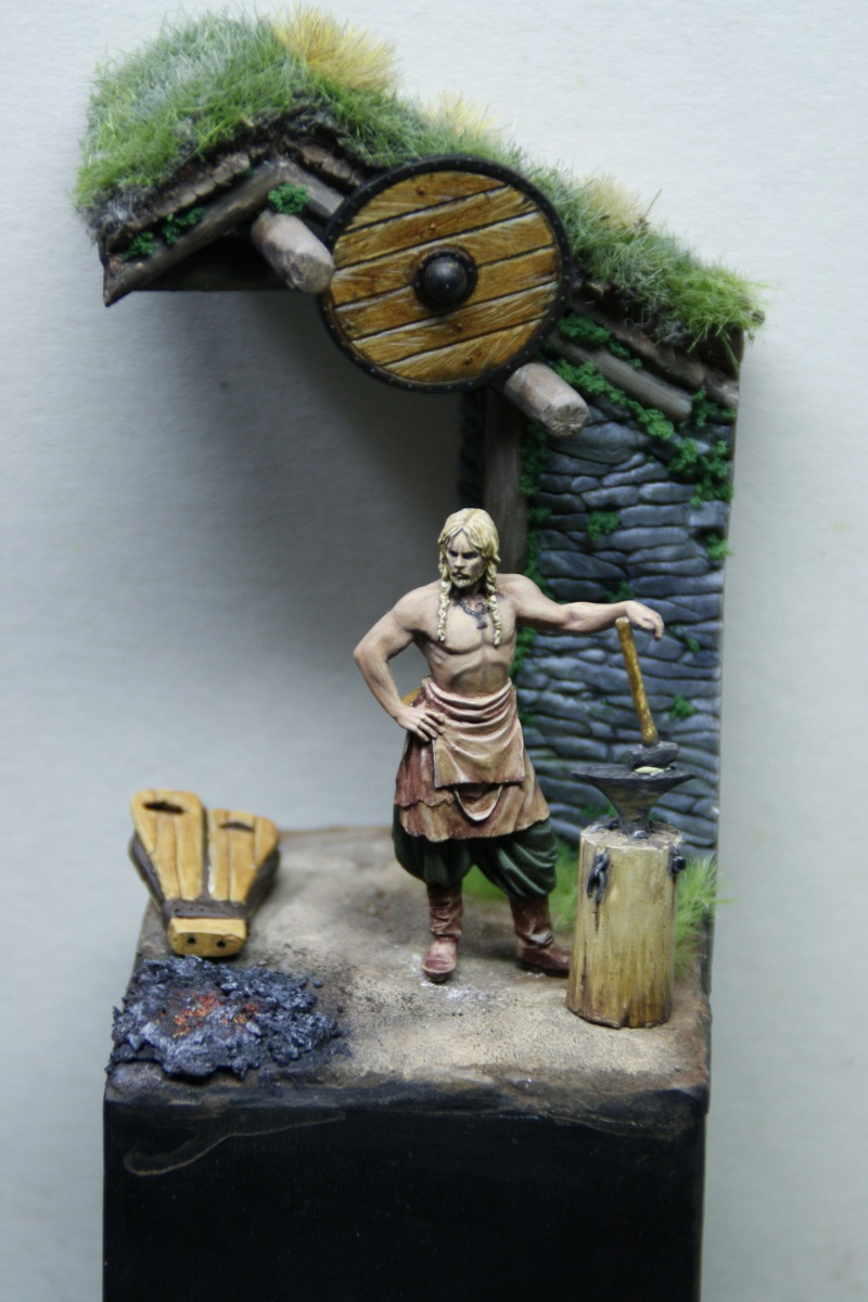 Andrea Miniatures-SV03-Norse Blacksmith par pisco - FIN ... et en  3D !! - Page 3 _mg_0711