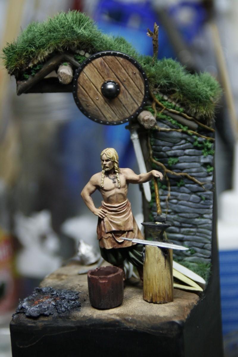 Andrea Miniatures-SV03-Norse Blacksmith par pisco - FIN ... et en  3D !! - Page 3 _mg_0714