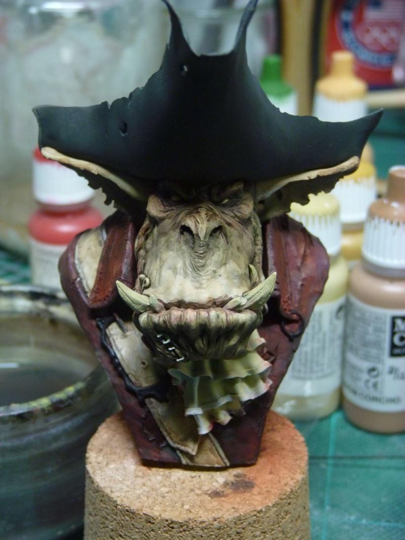 Buste Orks Pirates LeBen Studio par pisco P1040520