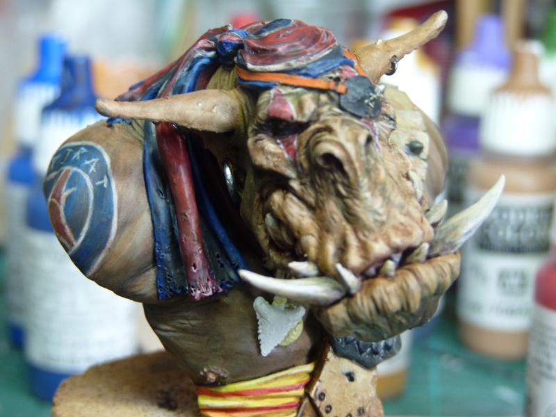 Buste Orks Pirates LeBen Studio par pisco P1040610