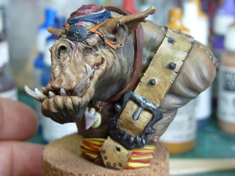Buste Orks Pirates LeBen Studio par pisco P1040613