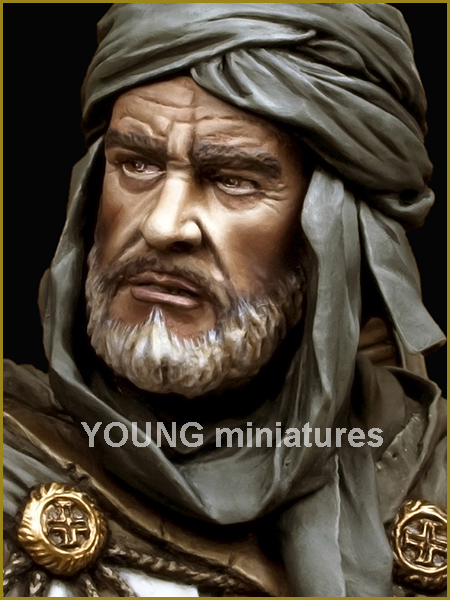 YOUNG MINIATURES -YH 1827- KNIGHT TEMPLAR IN JERUSALEM Yh182716