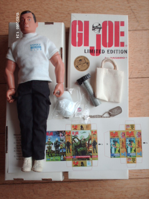 """1997 Officers Club Limited Edition """"G.I. Joe Collector"""" Figure Hpim2811"""