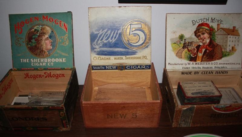 Boîtes de cigare - Sherbrooke Cigar210