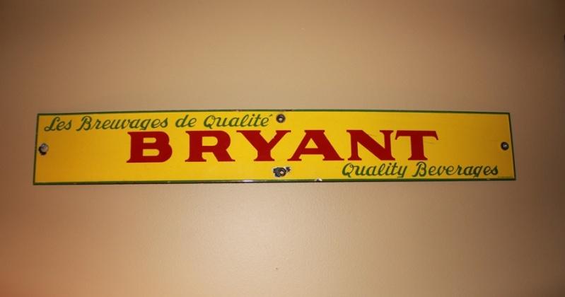 Affiche Bryant en porcelaine Porcel10