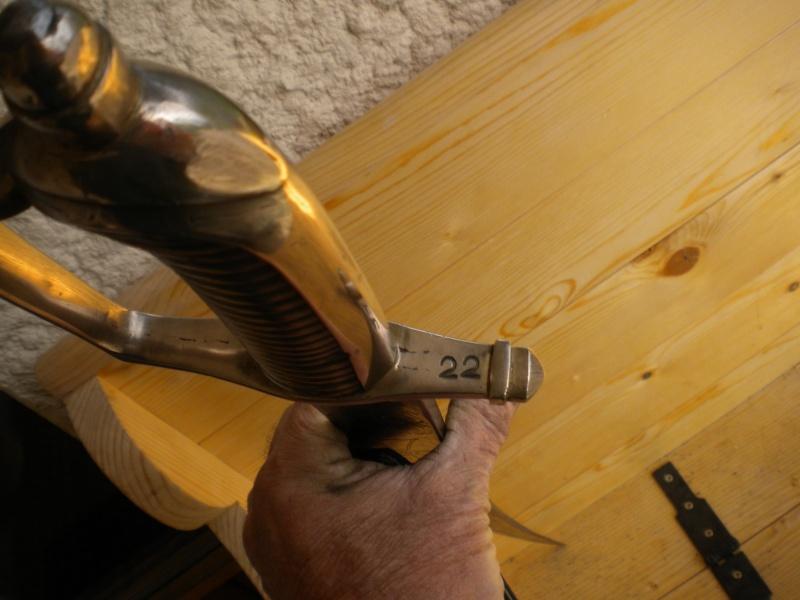 un sabre Savoie Sarde 01314
