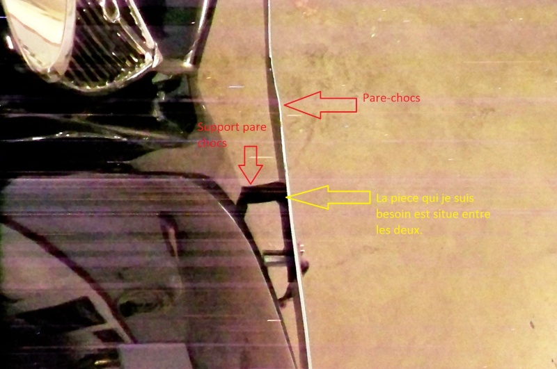 Piece pare chocs Peugeot 201 serie BR 100_0528