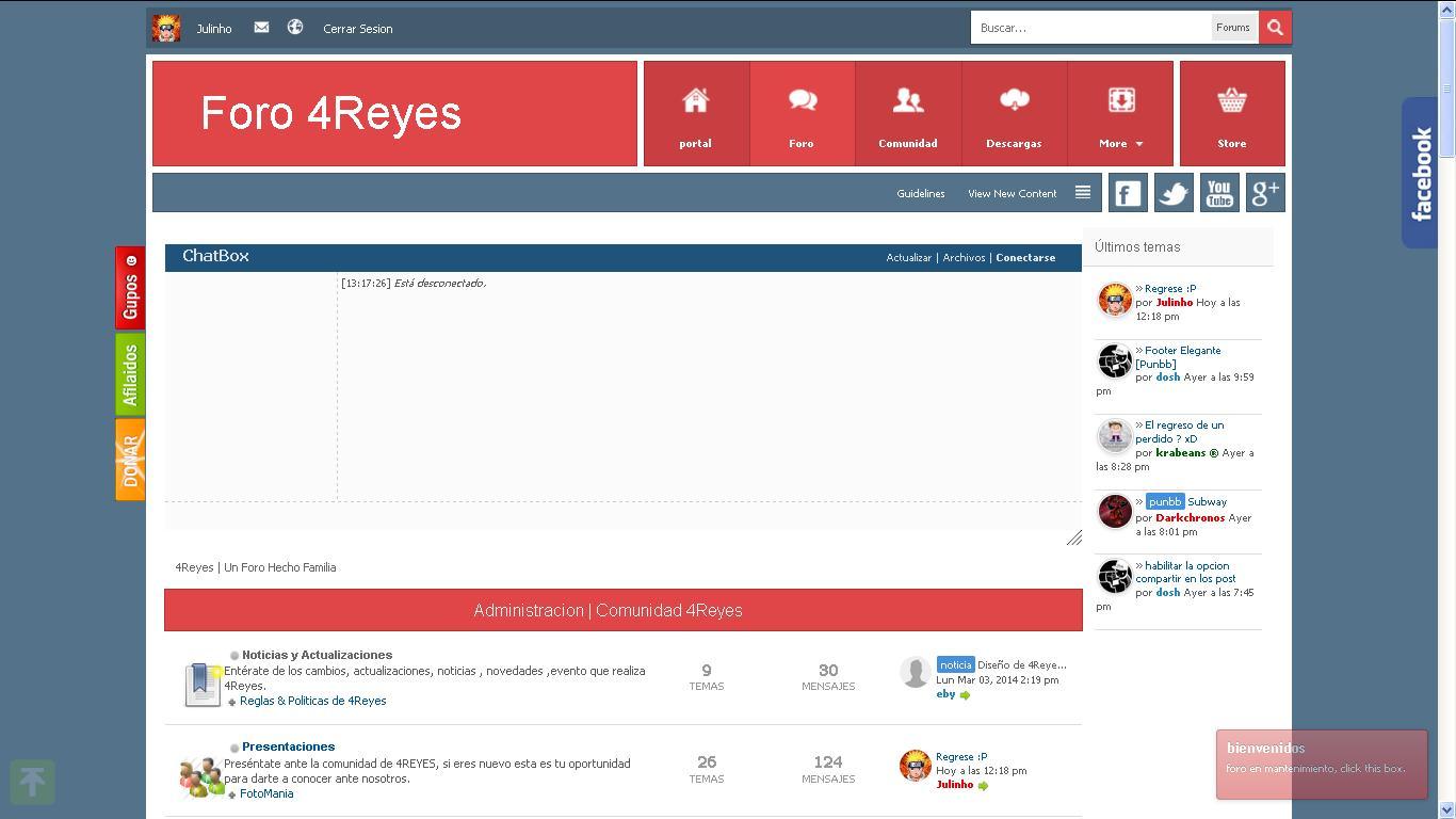 Foro 4Reyes | Un Foro Hecho Familia - Portal Header10