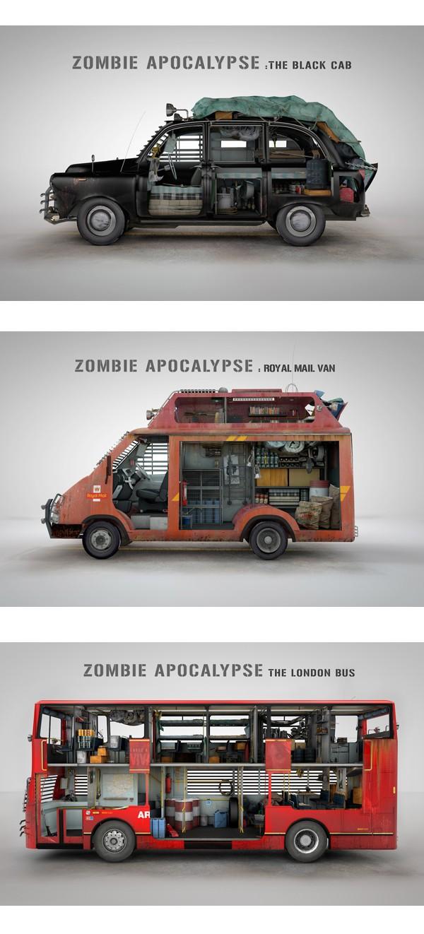 Kit voiture survivaliste