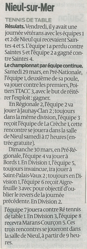 articles de presse du 19 et 27 mars 2014 So270310