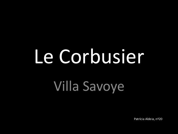 analyse de la villa savoye de le corbusier 116