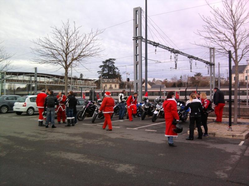 Père noel motards et motardes Photo038