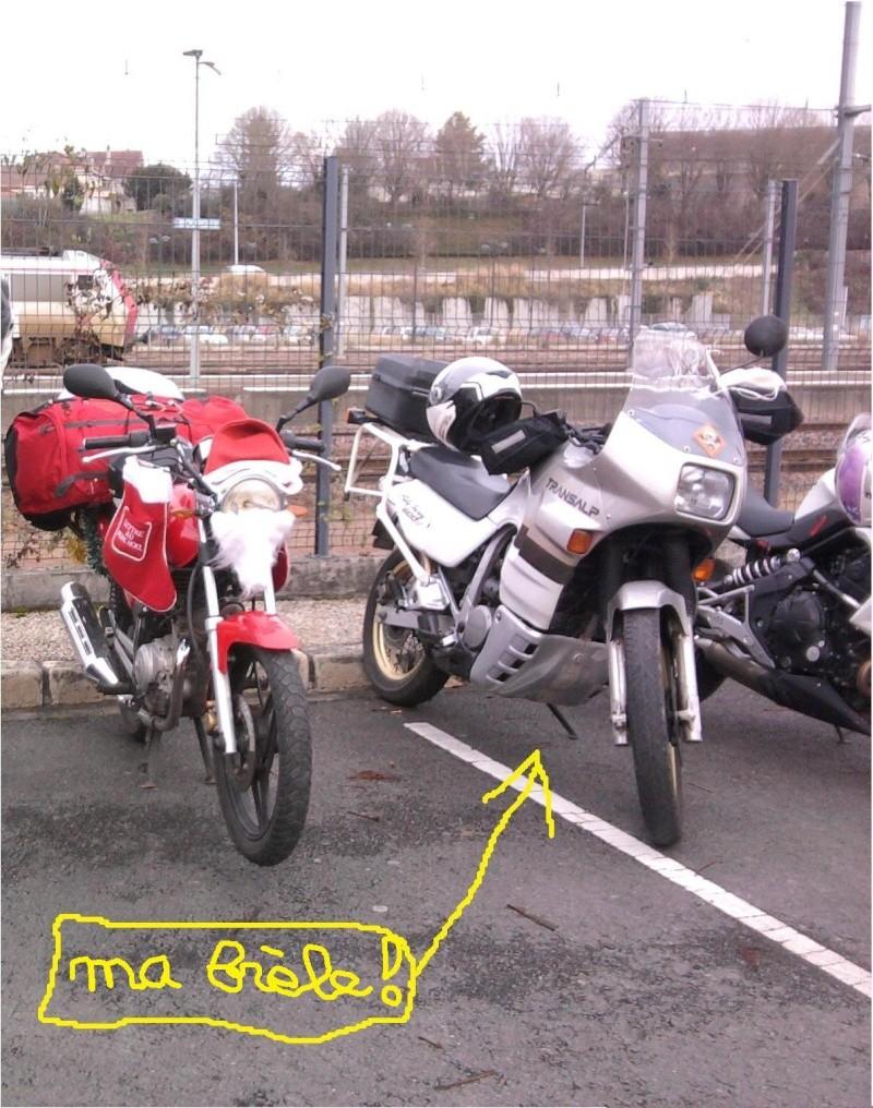 Père noel motards et motardes Photo040