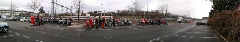 Père noel motards et motardes Photo041