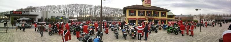 Père noel motards et motardes Photo043