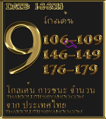 1st February 2014  โกลเด้น Goldde11