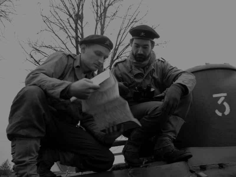 Libération 1944 - troupes françaises - 2DB Pb220011