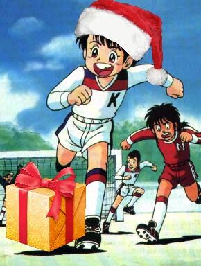 Le père Noël ammène sa hotte remplie de cadeaux (Connexion Lente) Inaka210