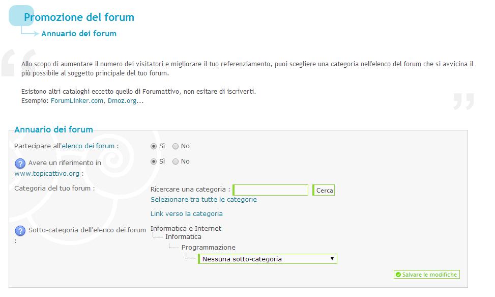 Come pubblicizzare il proprio forum Forumattivo Promfo10