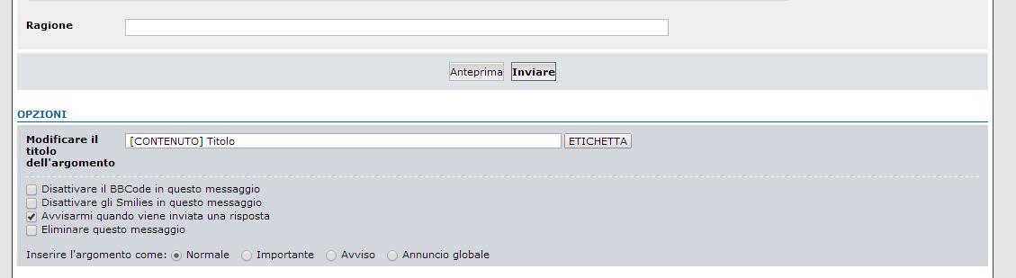 Hashtag 000000 su Forum dei Forum: Aiuto per Forumattivo S210
