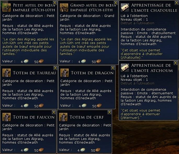 Les factions de réputation Screen56