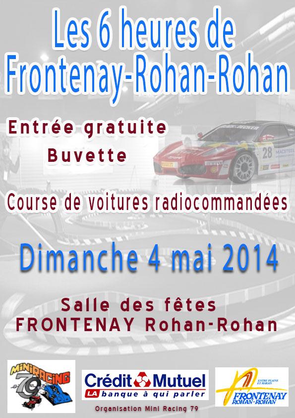 (79) - 3 et 4 mai /2014 - Mini Racing 79 - Endurance 6h Affich13