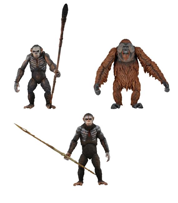 Planéte des singes les origines :Hiya toys,Neca et autres... Dotpot10