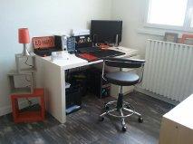 aménagement / déco bureau chambre d'amis Bureau11