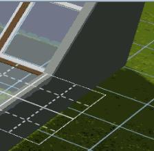 [Apprenti] Intégrer les fenêtres inclinées à un bâtiment  Pente10
