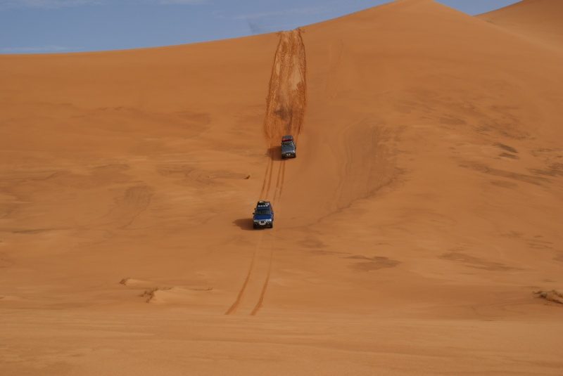 J'adore l'Afrique et ses déserts je souhaite beaucoup apprendre de vous. Dsc03711