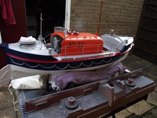 OAKLEY LIFEBOAT  HAR - LIL Rhyl lifeboat Dscf5015