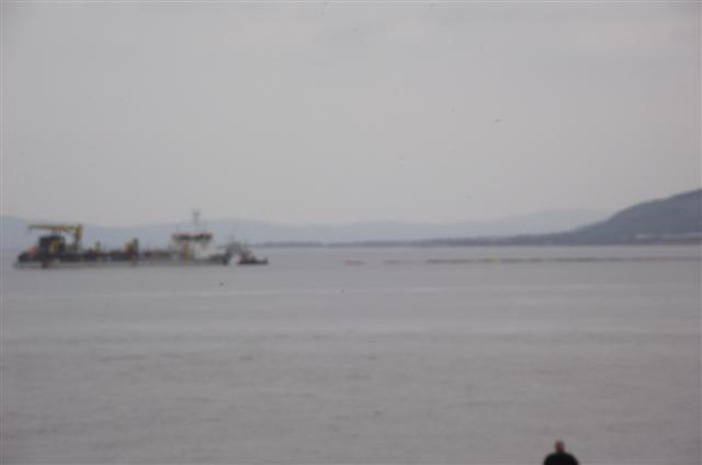 AL-IDRISI sand-dreger at colwyn bay Dscf5017