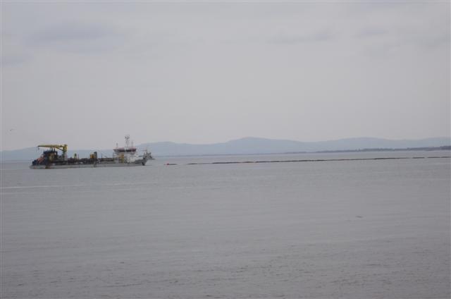 AL-IDRISI sand-dreger at colwyn bay Dscf5019