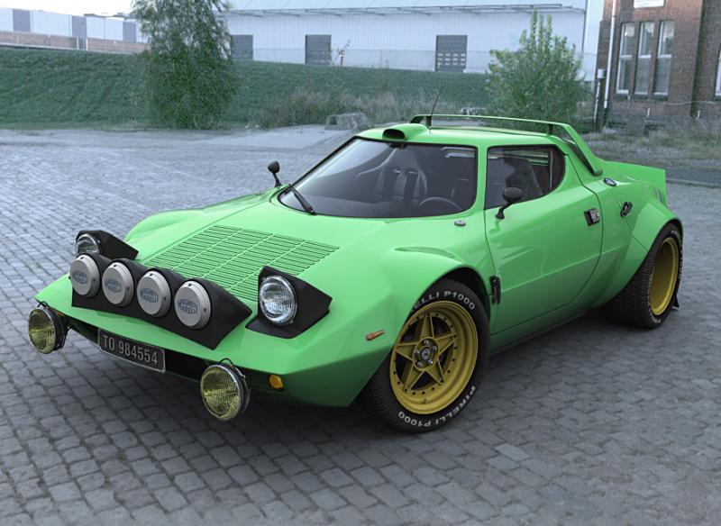 lancia stratos autoscale ( racing version ) Lancia10